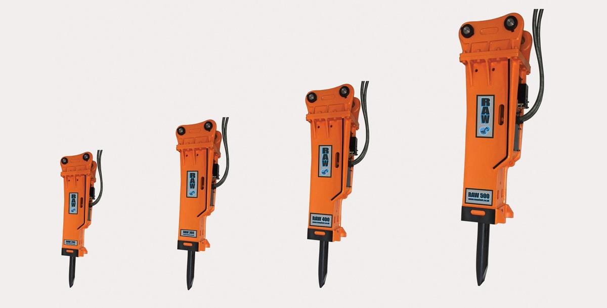 light-hydraulic-breakers-for-sale